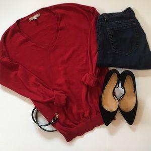 BR | Lux Cashmere Blend V-Neck Sweater ❤️